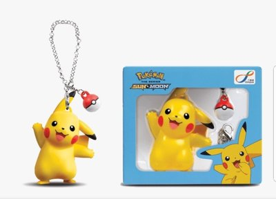 Pokemon《寵物小精靈》八達通 比卡超成人版 3D 匙扣配飾