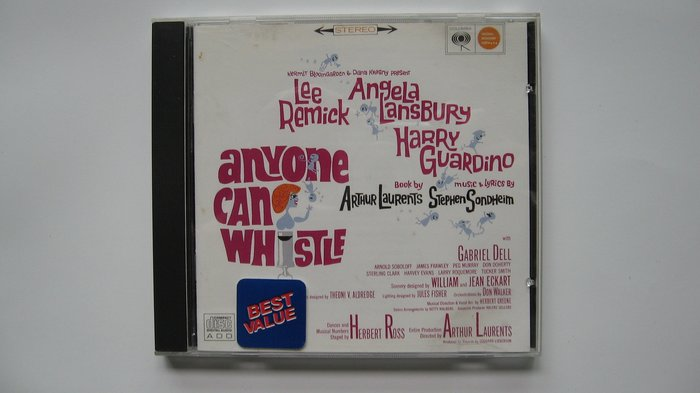 Anyone Can Whistle 桑坦作品 1964 Original Broadway Cast 自藏CD