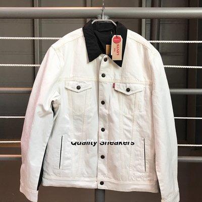 現貨 - Jordan x Levis 雙面 牛仔 外套 夾克 白色 黑色