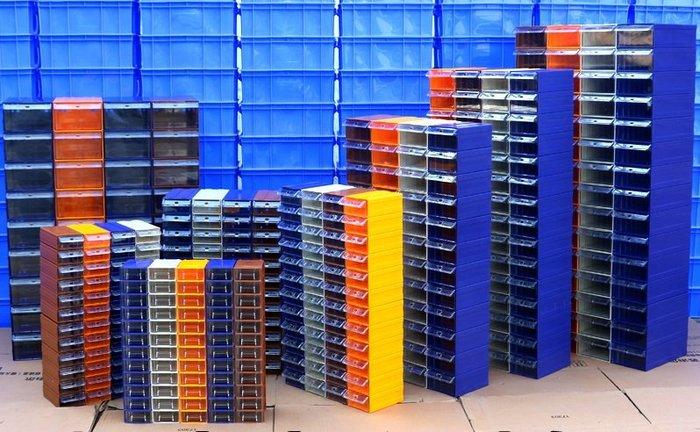SX千貨鋪-零件盒配件工具柜乐高分类物料盒螺丝塑料盒收纳盒抽屉式元件盒#綠色環保 #組合牢固 #超強承重