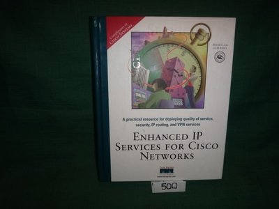 【愛悅二手書坊 O-01】ENHANCED IP SERVICES FOR CISCO NETWORKS