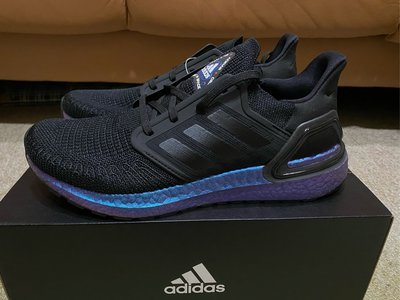 "【現貨】Adidas Ultraboost 20 ""Space Race"" 黑 藍 宇宙 EG1341"