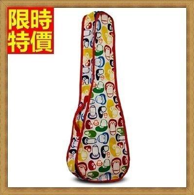 烏克麗麗包 ukulele 琴包配件-21/23/26吋時尚可愛防水帆布保護袋琴袋琴套4色69y28[米蘭精品]