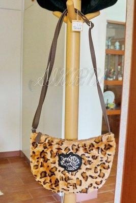 wachifield-dayan(瓦奇菲爾德,達洋)~全新品貓咪豹紋毛毛斜揹包