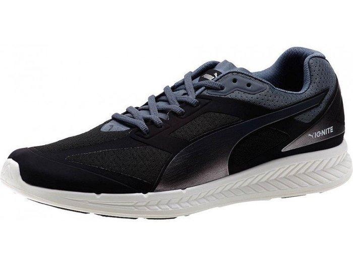(阿信)PUMA IGNITE 黑銀配色 USAIN BOLT 慢跑潮鞋款 188041-04