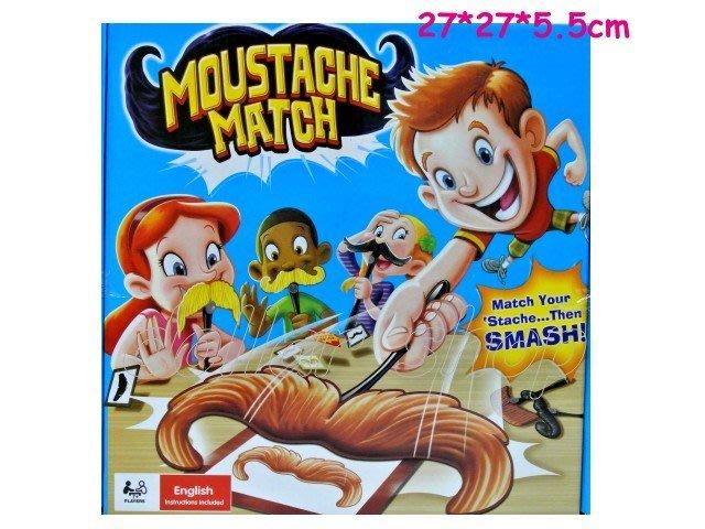 寶貝玩具屋二館☆【盒玩】眼明手快益智鬍子配對遊戲---拍鬍子對對碰桌上遊戲67