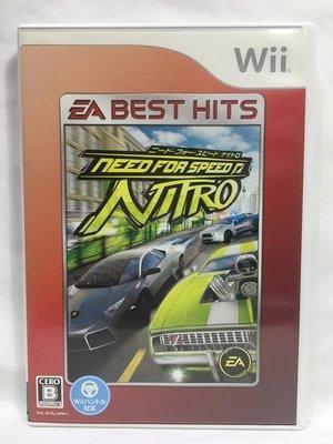 日版 Wii 極速快感 爆衝王 Need for Speed NITRO