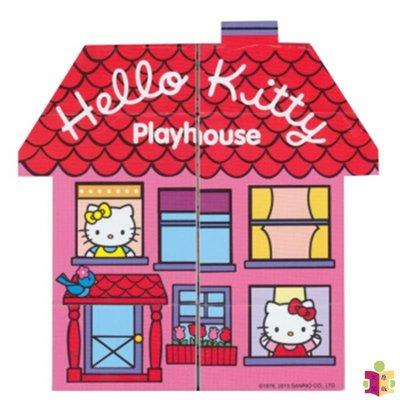 [文閲原版]學樂 萌巧書 凱蒂貓 英文原版 Clever Book Hello Kitty Playhouse 幼兒新奇操作玩具積木書 0-6歲