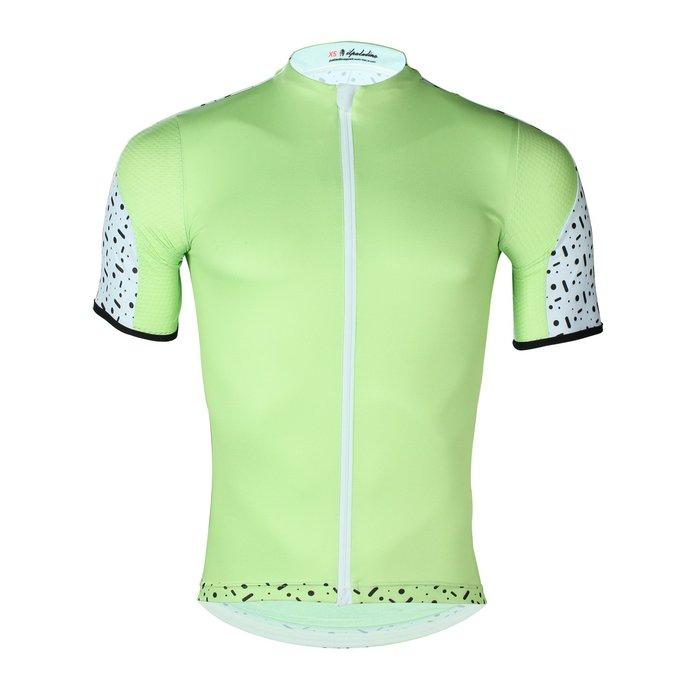 【ILPALADINO】競技型男士短袖車衣 :: 綠