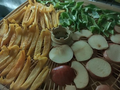 超鮮蘋果+三色椒乾
