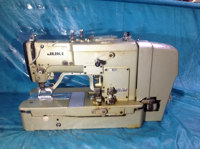 工業縫紉機 日本制 JUKI 761 銷眼機 打樣用 適合成衣各種衣服扣洞 全自動開扣眼。