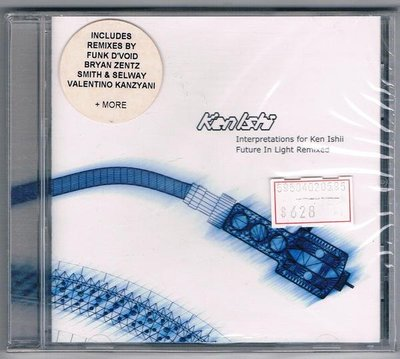 [鑫隆音樂]西洋CD-INTERPRETATIONS-FUTURE THE LIGHT REMIXES  / KEN ISHI/全新