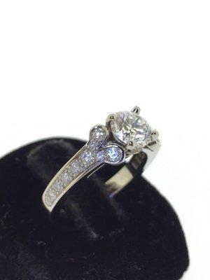 【RECOVER名品二手】CARTIER 卡地亞 1.03克拉鑽戒 鑽石 附GIA證書 100%真品 戒子目前在客戶家裡,有興趣可以先約時間!