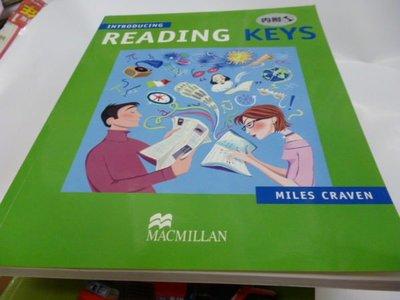 買滿500免運=有光碟《Introducing Reading Keys》ISBN:0333974565│Palgrave