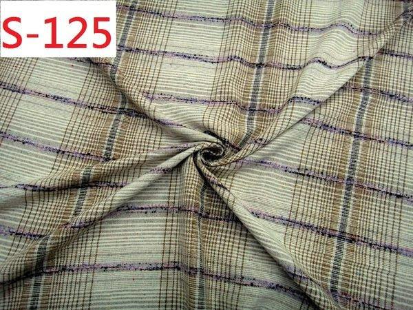 布料零售 布料批發 特價1呎30元【CANDY的家2館】精選布料S-125 黑咖啡亞克力毛格裙褲套裝料