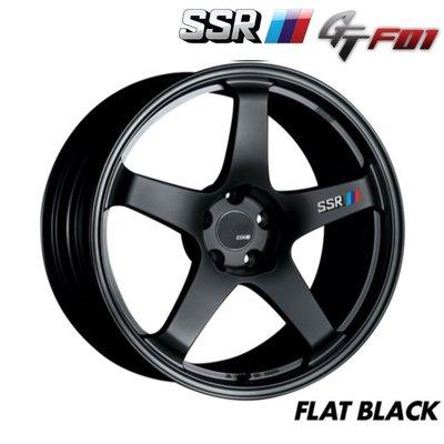 日本 SSR 鋁圈 GTF01 黑色 17吋 18吋 19吋 20吋 100 114 五孔 5/114.3 5/100