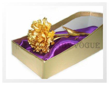 【可超取付款】黃金康乃馨禮盒(附贈品) 可加購霧面金壓紋提袋或牛皮色提盒~  母親節 送禮佳