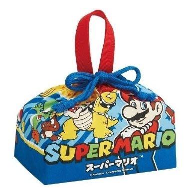 【胖兔兒精選】日本帶回 超級瑪利歐 馬力歐 馬利兄弟 便當袋 任天堂 手提餐袋 午餐 國小 開學