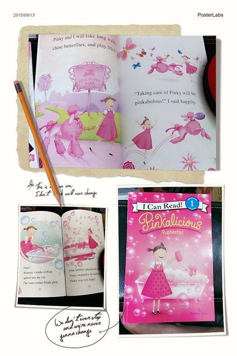 [兒童英語繪本]--I Can Read 1 --Pinkalicious Puptastic