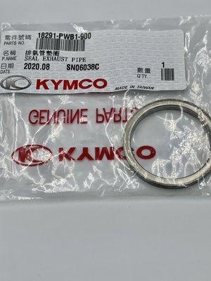 光陽原廠 排氣管墊圈  NIKITA 刺激 J300 AK550 MXU SHADOW K-XCT 18291-PWB1