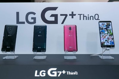 熱賣點 LG旗艦 G7 / G7+ thin Q 藍黑 酒紅 功能超越 G6