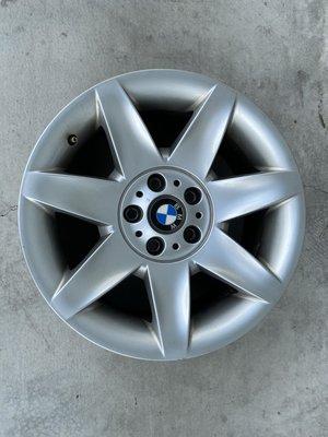 正BMW原廠17吋鋁圈 ET20 e39 530經典版升級換下  只有一顆