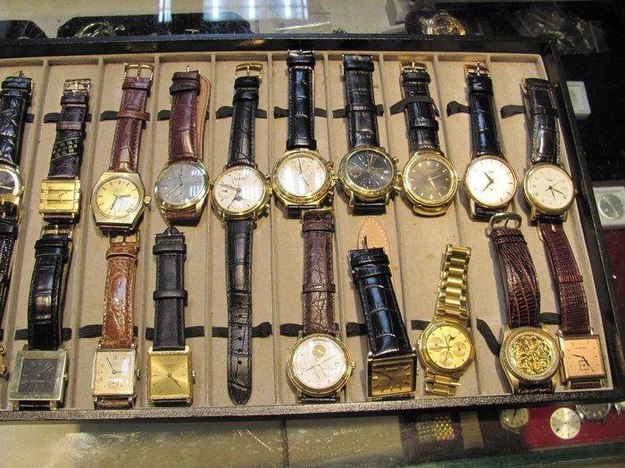 這些都是k金錶 但跟金飾一樣 僅能保值你如果喜歡會增值的(不只保值) 敬請搜尋我賣場 收藏家系列~歡迎鑑賞面交