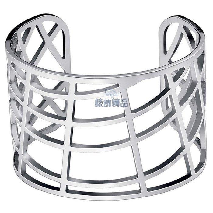 【錶飾精品】CK 飾品 Calvin Klein KJ1TMF0001 女性 手環 KJ1T 白鋼 銀 千頌伊