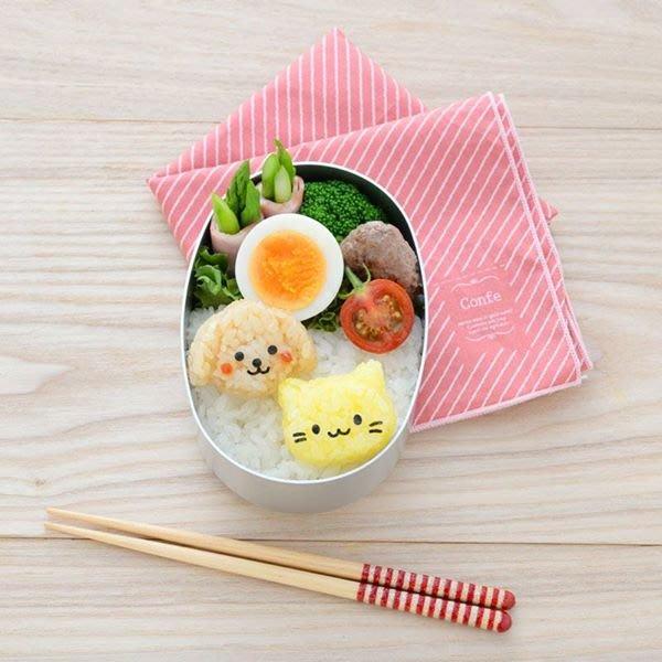 【東京速購】Arnest 造型飯糰壓模器 貓咪與小狗