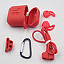促銷【送防丟繩+扣環】Apple Airpods 藍芽耳機 專用 防丟 保護套 套裝組 矽膠套 軟殼 保護殼