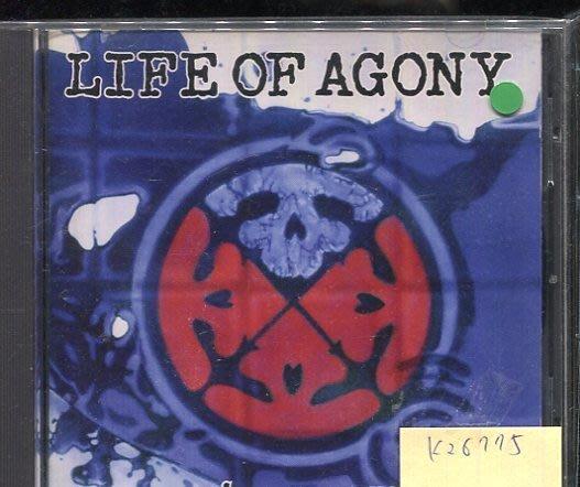 *真音樂* LIFE OF AGONY / RIVER RUNS RED 二手 K26775