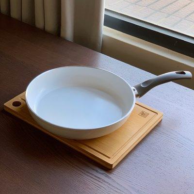 【Ballarini】義大利班樂尼 28cm 陶瓷不沾煎鍋、平底鍋(全新)- 德國雙人牌集團