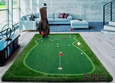 PGM 室內高爾夫果嶺 推桿練習器 辦公室迷你練習毯