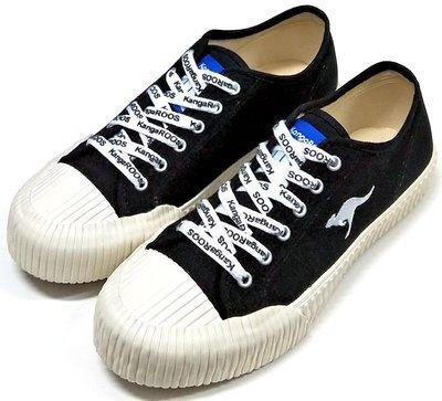 【菲瑪】KangaROOS CRUST 美國口袋鞋 職人手工硫化鞋/帆布鞋 黑KM91260 原廠新款免運