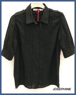 喬瑟芬【SEE BY CHLOE】2010'秋冬黑色棉質襯衫~特價$4900含運