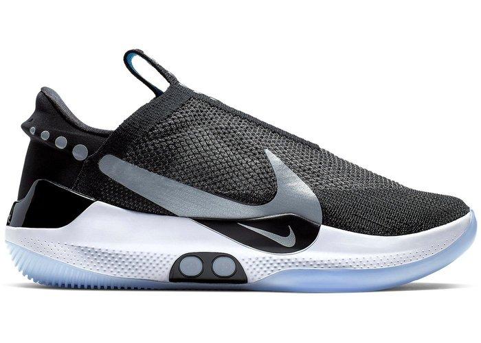 【紐約范特西】預購 Nike Adapt BB Black Pure Platinum 自動 綁帶 手機 藍芽 操控