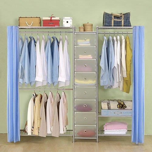 【中華批發網DIY家具】D-62A-06-W2型90+pp+W3型60衣櫥置物櫃-(前罩)不織布