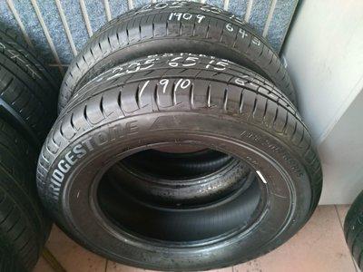 205 65 R 15 普利司通 NH100 19年台灣製造 落地胎 二手 中古 車 輪 胎 一條1200元