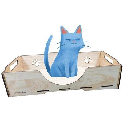 KT001 KATIE凱蒂床組 床組單入含長抓 精選木質 毛小孩 寵物床 寵物睡墊 睡窩 寵物屋 小房子