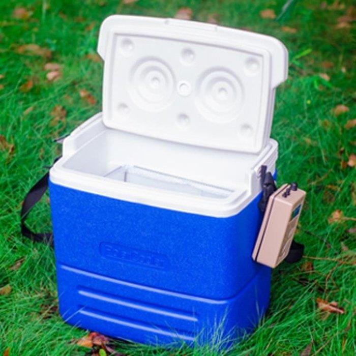 華盛車載戶外活餌保溫箱便攜手提儲物冷藏箱 冰塊保鮮箱帶氧氣泵