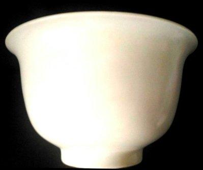 [聚寶軒] 古瓷 老件 白釉大碗 品相如圖 尺寸約: (口徑)17* 7(底徑)*10.4(高)公分