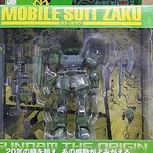 全新未開封 BANDAI 1/144 ACTION FIGURE 01 安彥良和 GUNDAM THE ORGIN 漫畫版 MS-06 ZAKU