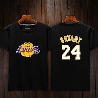 🏀黑曼巴Kobe Bryant科比短袖棉T恤上衣🏀NBA湖人隊Adidas愛迪達運動籃球衣服T-shirt男女992