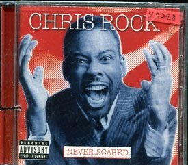 *還有唱片行* CHRIS ROCK / NEVER SCARED 二手 Y7298 (左殼切痕)