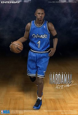 惠美玩品 歐美系列 其它 公仔 1708 安芬利 哈德威 Hardaway 1號球星 NBA 藍衣