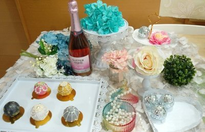 Wedding Cake❤迷你Candy Bar六件組主題婚禮迎賓佈置 歐式蕾絲點心盤 蛋糕架/彌月派對點心盤出租