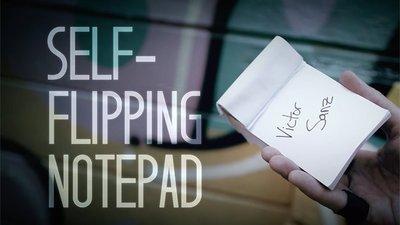 【天天魔法】【S919】正宗原廠~自動翻轉筆記(心靈筆記)~Self-Flipping Notepad