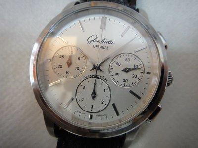 Glashutte Original 格拉蘇蒂 不銹鋼Senator Klassik Chronograph男妝計時腕錶