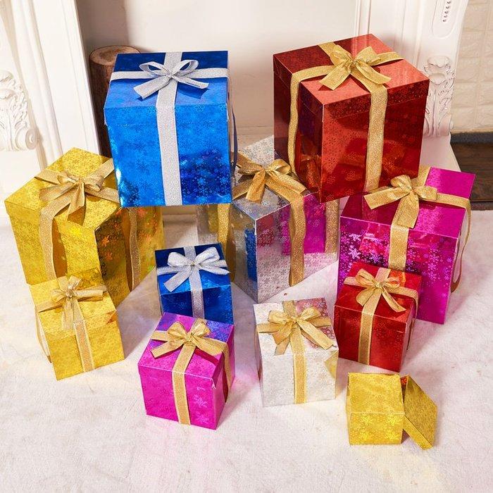 禧禧雜貨店-圣誕節裝飾場景布置飾品圣誕節禮物盒圣誕樹用品禮盒亮光加硬禮盒#萬聖節道具#萬聖節裝飾#萬聖節服裝#萬聖節飾品