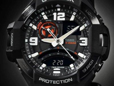 【eWhat億華】CASIO G-SHOCK  GA-1000-1A  Gravity Defier 飛行錶  手錶 平輸 現貨 GA1000【3】